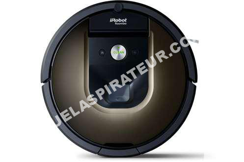 aspirateur irobot roomba 980 aspirateur robot roomba 980 au meilleur prix. Black Bedroom Furniture Sets. Home Design Ideas