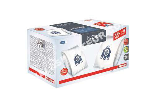 aspirateur miele sac aspirateur hyclean pack xxl fjm 3d sac aspi hyclean pack xx. Black Bedroom Furniture Sets. Home Design Ideas