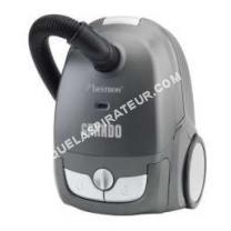 Aspirateur avec sac  abg400sge aspirateur traineau 1200w gris Grando